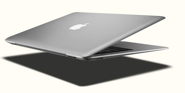 Лаптоп на Apple влиза в плик за писмо